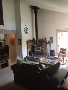 Photo for Perfectly located 3 BR 2 BA mountain view condo adjacent to shuttle and shops.