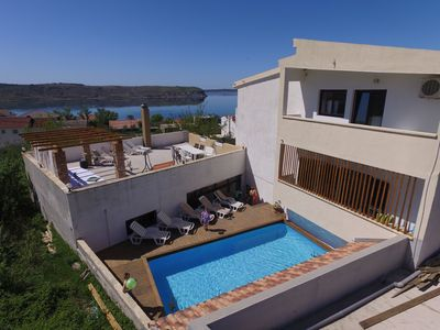 Photo for house with sea view, 180 m from the beach