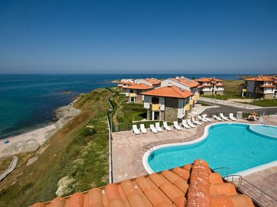Photo for DOUBLE ROOM 2 in a quiet hotel with SEA VIEW