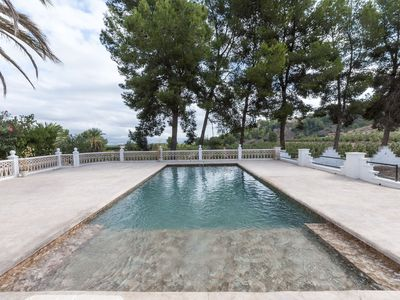 Photo for GURUGU - Villa with private pool in Villanova de Castelló.