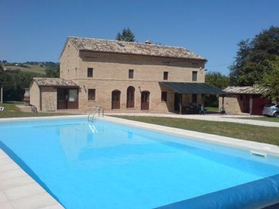 Photo for TYPICAL ITALIAN STYLE VILLA WITH POOL