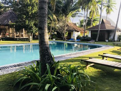 Photo for Spacious Garden Cottage on Palawan!