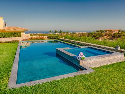 Photo for Modern Mexican Luxe Villa, Stunning Ocean and Golf Views