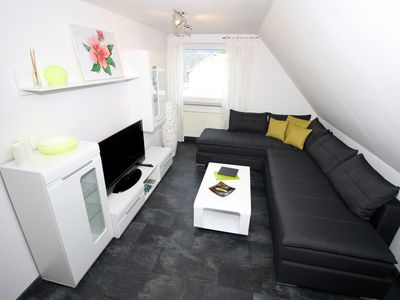 Photo for Luxury apartment in Oberhof on Rennsteig max. 4 pers. Incl. Wi-Fi / Parking