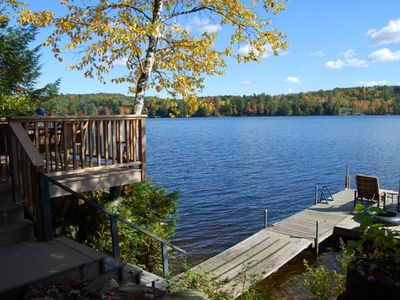 Photo for Beautifully Remodeled Lakefront Home in Western Maine Mountains
