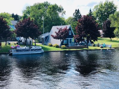Photo for Newly furnished! Renovated Riverfront home in Oscoda, MI Ausable River