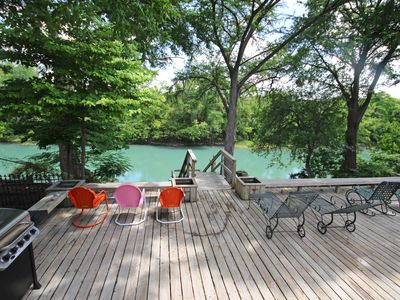 Photo for Maverick's River Haus- Spectacular Guadalupe Riverfront, Come and Enjoy!