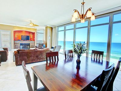Photo for ☀Sterling Beach #601-Luxury 3BR☀HUGE Gulf Front Balcony-OPEN May 29 to Jun 1!