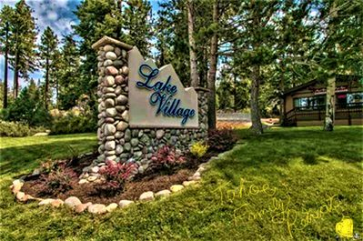 Entrance to our private community Lake Village