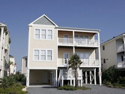 Photo for Ocean & Waterway Views!  4 Covered Decks & Screened Porch!