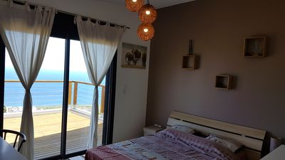 Photo for 180 ° sea view villa with pool