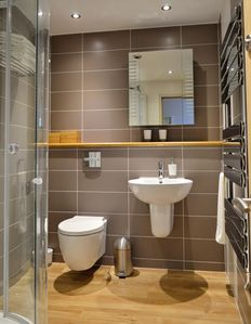 Modern shower room and W/C