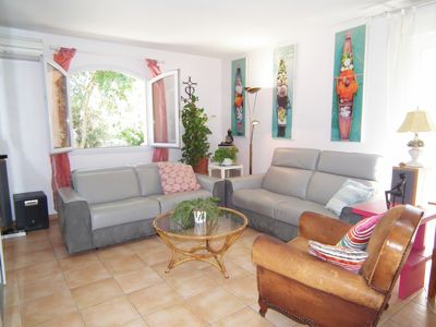 Photo for Villa P6 and annex P2 independent with swimming pool on 1100 m ² without opposite