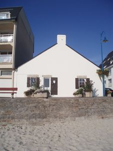 Photo for Traditional house in front of the sea, 10 meters of the beach. Exceptional position...
