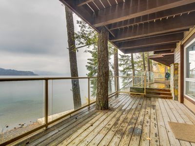 Photo for Lakefront condo with wonderful views - easy access to nearby skiing!
