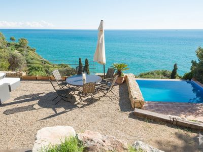 Photo for TH71 Holiday villa in Tamarit Tarragona sea view 500m to beach