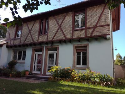 Photo for Charming cottage LE PETIT PARC in Colmar - renovated duplex apartment on the ground floor