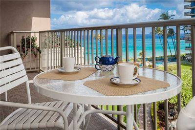 Amazing ocean views from the lanai!