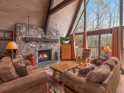"""Photo for True Mtn. Lodge Experience -  Original """"Lodge Style"""" with all  modern ammenities"""