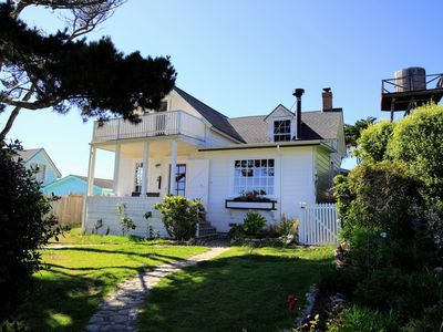 Photo for Modernized Historic Home with Breathtaking Oceanview in Mendocino Village