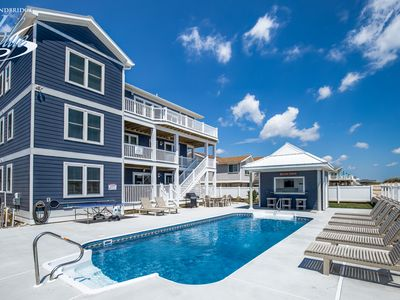 Photo for Jim N I Dream | Oceanfront | Private Pool, Hot Tub