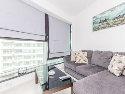 """Photo for Available """"The Lofts West"""" 1 Bed easy access to Dubai Mall/Burj Khalifa"""