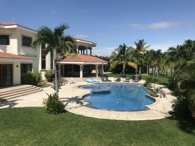 Photo for Buenaventura, Luxury Lakefront Mansion close to the Beach, Nicklaus Golf Course