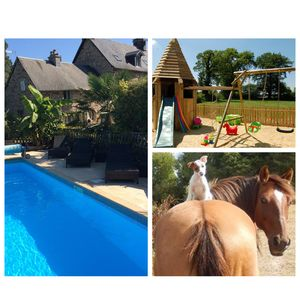Photo for 3 jewelery gite with swimming pool 20 minutes from Mont Saint Michel