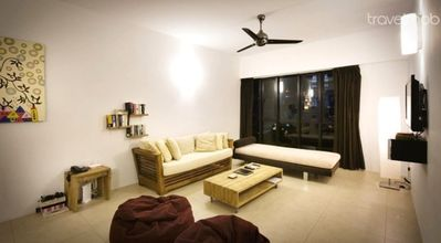 Relaxing living space in the city