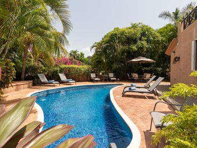 Photo for Casa Rayos De Sol - 3 bdrm private pool house for 7