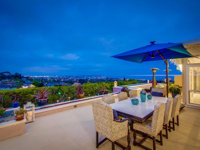 Photo for Spectacular Views Overlooking the Bay and Ocean with Jacuzzi Spa