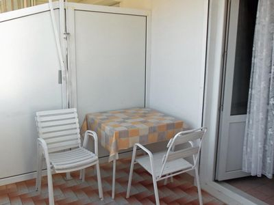 Photo for Studio flat with terrace and sea view Nemira (Omiš)