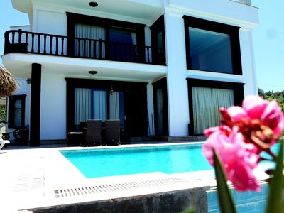 Photo for VIP luxury 5 bedroom private holiday villa with private pool with full sea view.