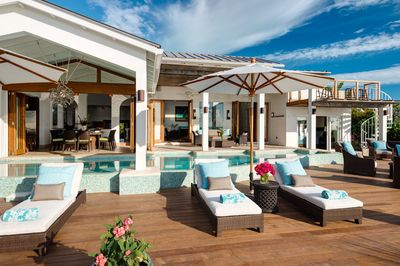 Relax and enjoy paradise in over 1500 sq feet of luxurious outdoor living space!