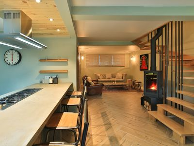 Photo for Bright, modern chalet in central Chamonix