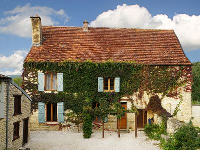 Photo for Lovely Spacious House in Quiet Village with Views of Burgundy Vineyards