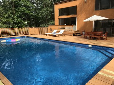 Photo for SUMMER 2019! Bright contemporary home with big pool! Perfect for families
