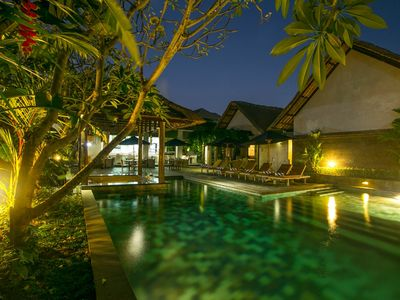 Photo for The cozy one bedroom villa with private pool 10 minutes drive to Seminyak beach
