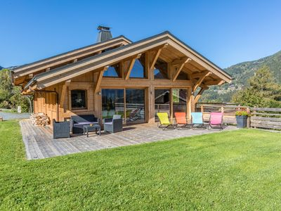 Photo for Large new luxury chalet Chamonix valley
