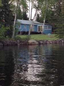 Photo for Classic North Shore Lakefront Cabin on Devil Track Lake!  Relaxing Required!