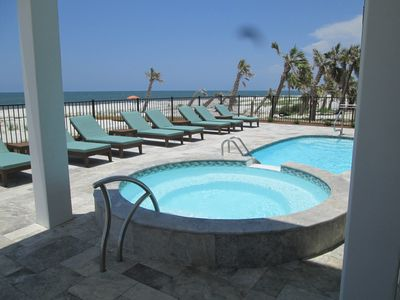 GULF FRONT, HEATED, PRIVATE  POOLS - ONE OF WHICH IS LOUNGING POOL - SEATS 10