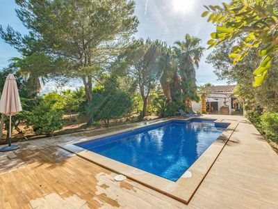 Photo for With pool and a view - Casa de Son Teulari