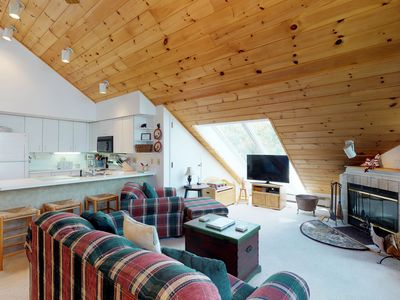 Photo for New Listing! Family-friendly condo with loft & mountain views - ski-in/ski-out