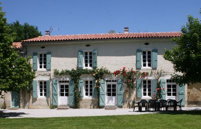 Photo for Spacious farmhouse with private large heated enclosed pool and extensive grounds