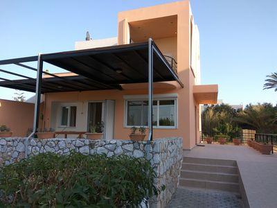 Photo for Apartment 100 m from the sandy beach of  Gerani, ideal point to explore W. Crete