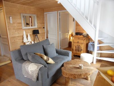 Photo for Charming apartment on the slopes Serre Chevalier Chantemerle 9 people