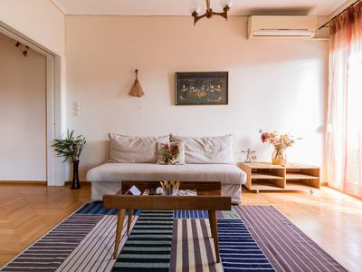 Photo for Cozy 2 bdr Apt in Athens Center