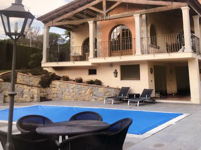 Photo for Mansion with garden, indoor heated pool and outdoor pool.