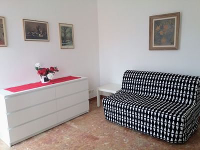 Photo for LUMINOUS AND LARGE TWO-ROOMED APARTMENT
