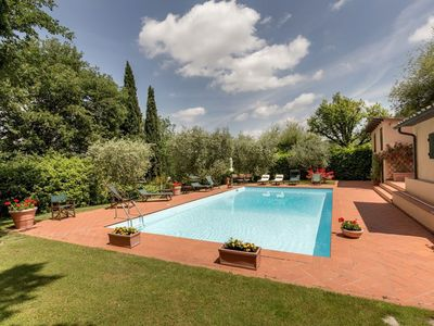 Photo for enchanting villa located in the Chianti Senese